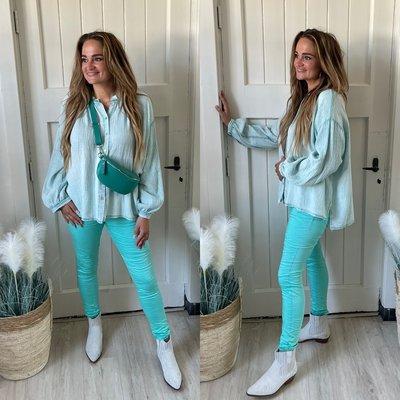 Babice blouse - mint
