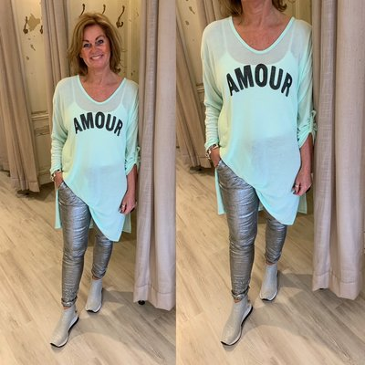 Amour Tuniek Dress - MINT