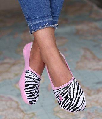 Sneakersokken Zebra
