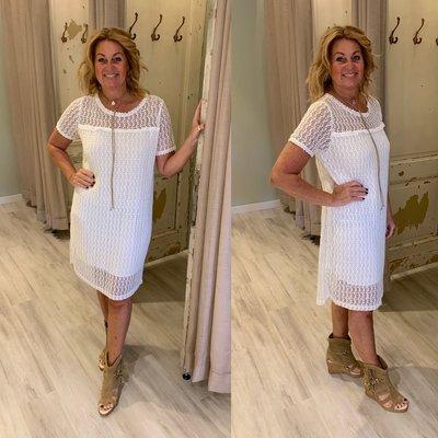 Romy Night dress - wit