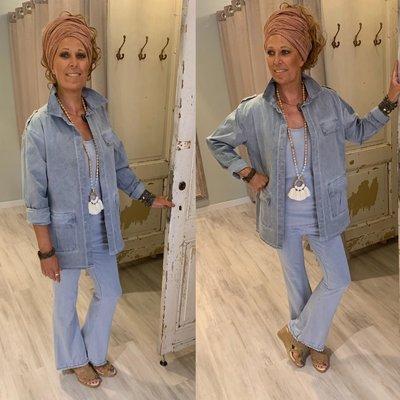Gail jacket - blauw