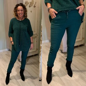 Iris Basic joggingbroek -  gucci green