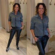 Melany Metallic blouse - ANTRASIET