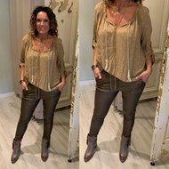 Yolante blouse - camel
