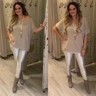 Lucia Vhals top - beige