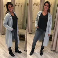 GLAM jacket - STONE WASH grey