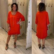 Lolly tuniek/dress - red