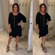 Lolly tuniek/dress - zwart